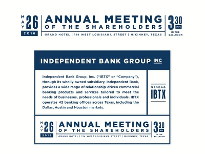 Annual Report  annual meeting finance bank banking annual report