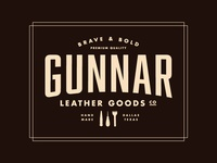 Gunnar Leather Goods Logo