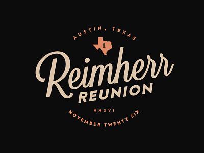 Reimherr Reunion - updated 3 ismael burciaga family reunion texas branding logo identity