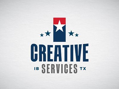 Creative Services Logo texas bank finance branding logo