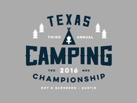 Texas Camping Championship Identity