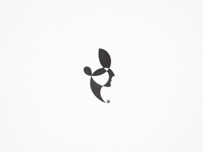 Face logo symbol mark identity branding face
