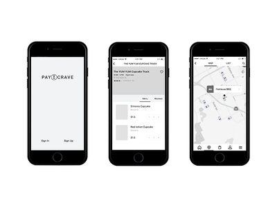Paycrave Redesign redesign mobile wireframe