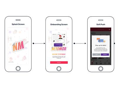 Netomoji Design mobile design ui