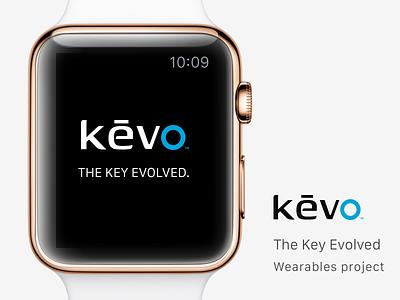 Kevo Project wearables design ui