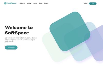SaaS UI saas design saas saas website shapes design ui