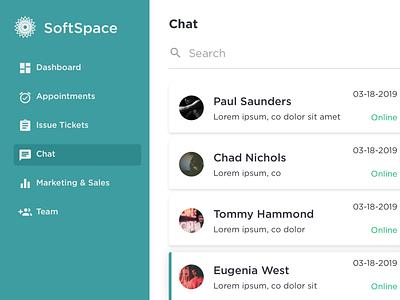 Saas Chat saas app saas saas design portfolio design ui