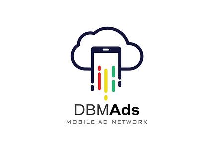 DBM Ads Mobile ad Network business logo minimalist logo design minimalist logo branding illustration logo design vector minimal illustrator graphic design