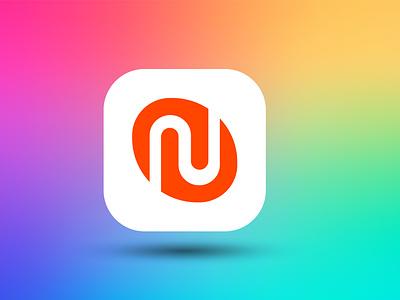 Nest app logo modern app logo app design mobile app logo app icon logo app icon app logo ui ux illustration branding design vector logo minimal illustrator graphic design