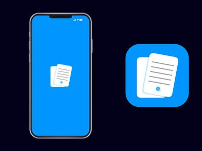 Flashcards app icon app icon logo modern modern app icon app logo app icon ux ui illustration branding design vector logo minimal illustrator graphic design