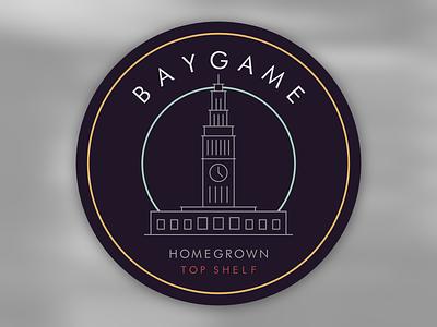 BAYGAME sf seal san francisco patch bmx baygame