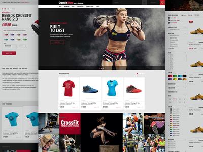 Reebok – CrossFit Website