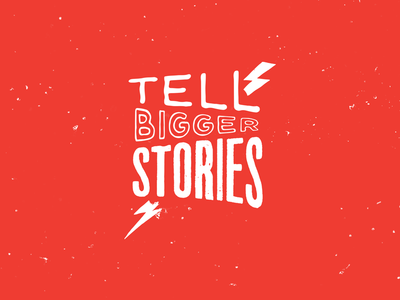 Tell Bigger Stories Logo