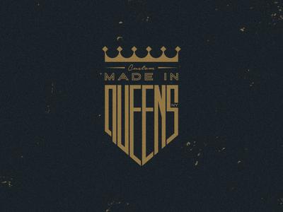Made In Queens Badge