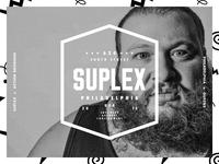 SUPLEX x ACTION BRONSON