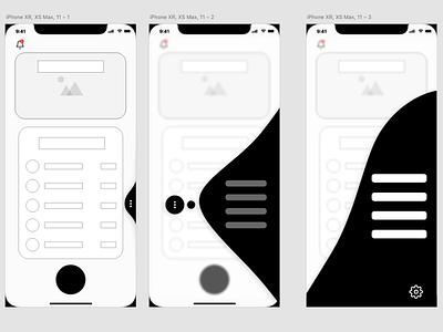 Fluid UI lofi user experience prototype fluid application bankingapp payment banking user experience uiux user interface ui user interface adobe xd