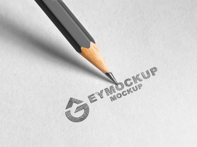 Pencil Sketch Freebies Logo Mockup logodesign logo mockup sketch illustration psd new mockup ui free free mockup