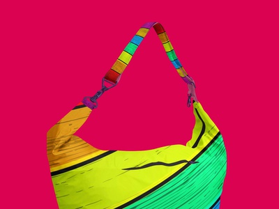 Hanging Handbag Mockup bags girls mokeup psd design hanging handbags