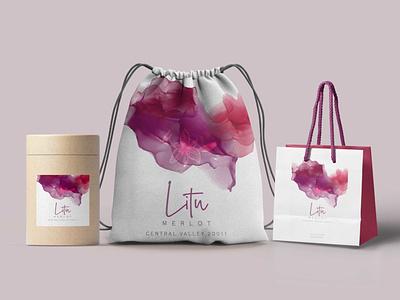 Bag Design Mockup floral print psd graphic design presentation mockup design bags carrybag