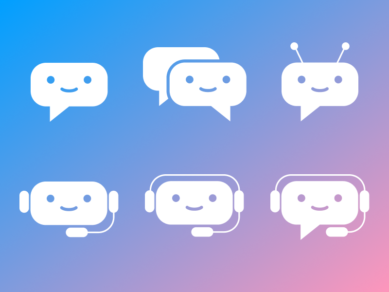 Chatbot icons icons icon chatbot