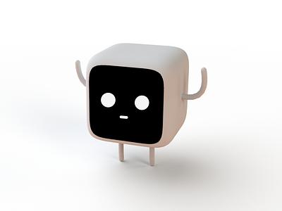 Cute Robot confetti illustrations cute illustration computer character design character colorful colors emoji robot cute illustration minimal 3d