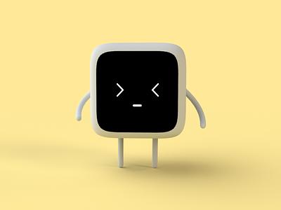 Language Learning App character test cute study app school illustration student teach education e-learning lesson courses learning 3d cute robot minimal ios interface app ui