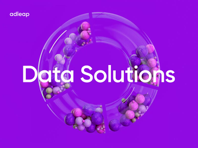 Data Solutions tube stories banner colorful gregg colors render c4d balls loader typography graphic design animation motion graphics branding logo design illustration 3d minimal