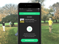 Epic Golf Checkout and Invite