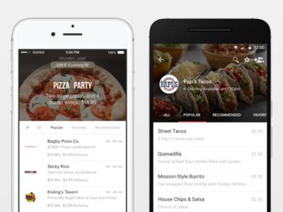 OrderUp Consumer App