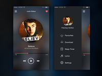 Music App IOS - Daily UI 01