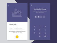 OTP Verification Screen - Daily UI 06