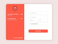Credit Card Checkout - Daily UI 13