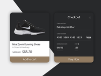 Credit Card Checkout Flow - Daily UI 15