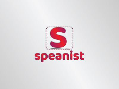 Speanist Logo | Branding flat icon minimal logo design branding