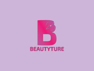 Beautyture Logo | Branding flat icon minimal logo design branding