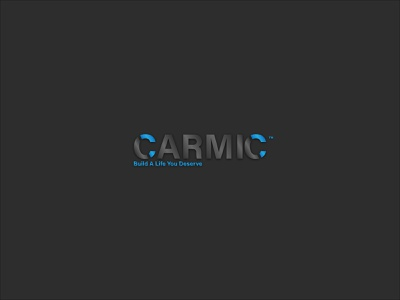 Carmic Logo|Branding flat minimal logo design branding