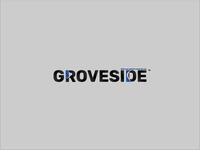 Groveside Logo|Branding flat minimal logo design branding