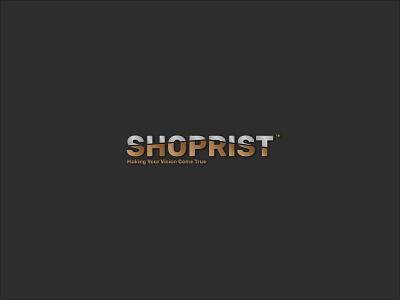 Shoprist Logo|Branding flat minimal logo design branding