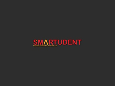 Smartudent Logo|Branding flat minimal logo design branding