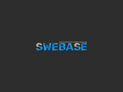 Swebase Logo|Branding flat minimal logo design branding