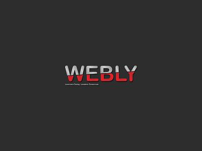 Webly Logo|Branding flat minimal logo design branding
