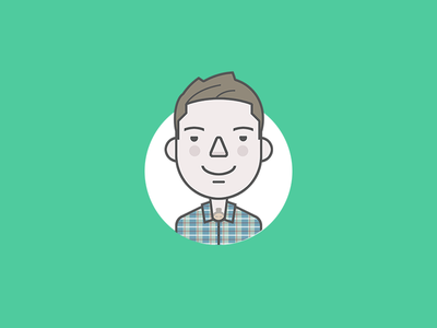 Personal character avatar character avatar flat icon illustration personal face
