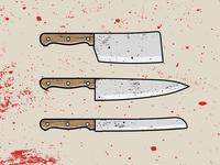 Kitchen knives 🔪