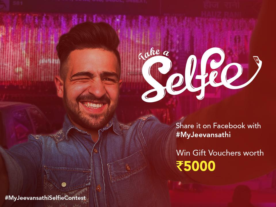 Selfie Contest by meenakshi Goyal on Dribbble