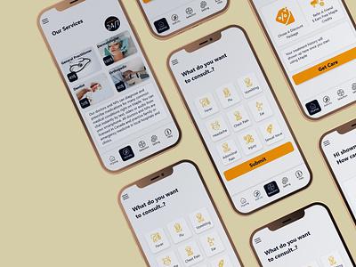 patient appointment app ui doctor at door app design appointment booking app design booking app ui patient appointment app ui appointment booking app