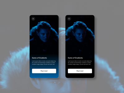 Streaming App - Watch Your Series tv got game minimal ux ui design clean app illustration picture dark mode vod hob movies series videos