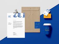 AR Marketing Visual Identity - Stationery