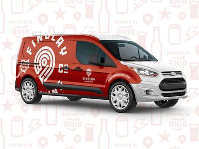 Findlay Brewing Company Promo Van