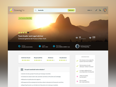 Review Page ui web website review redesign wip ux