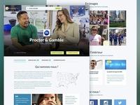 Company page